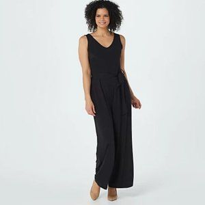 ATTITUDES BY RENEE NEW Como Jersey Jumpsuit